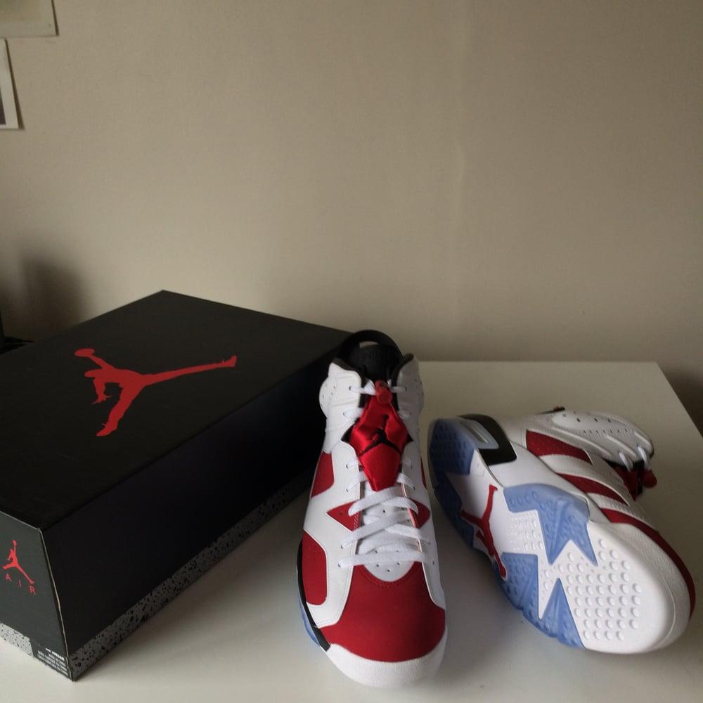 pick up d4390 ba0e7 Image of Nike Air Jordan VI 6 Carmine ...
