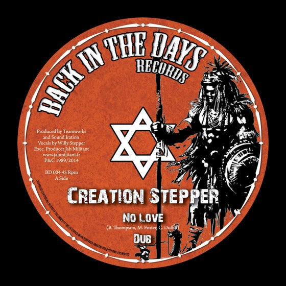 Image of Creation Stepper - No Love + Time has come