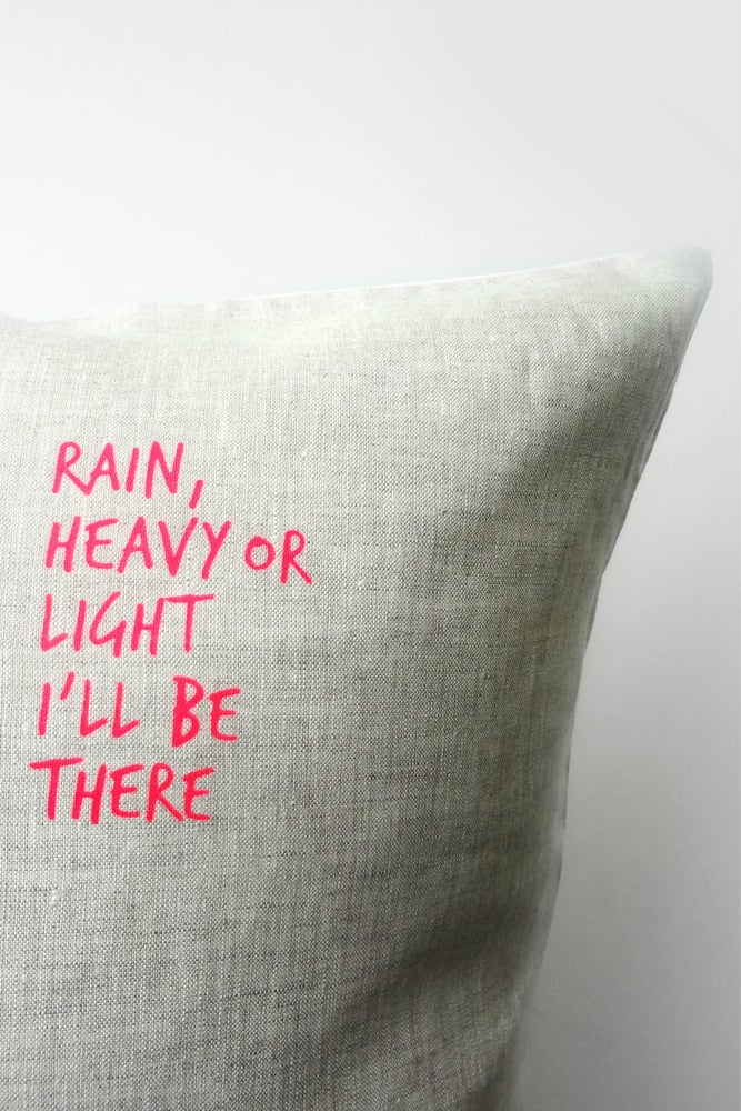 Image of Rain - Cushion WAS $49