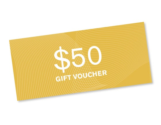 Image of $50 Gift Voucher