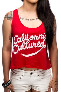 Image of California Cultured Boxy Crop Tank