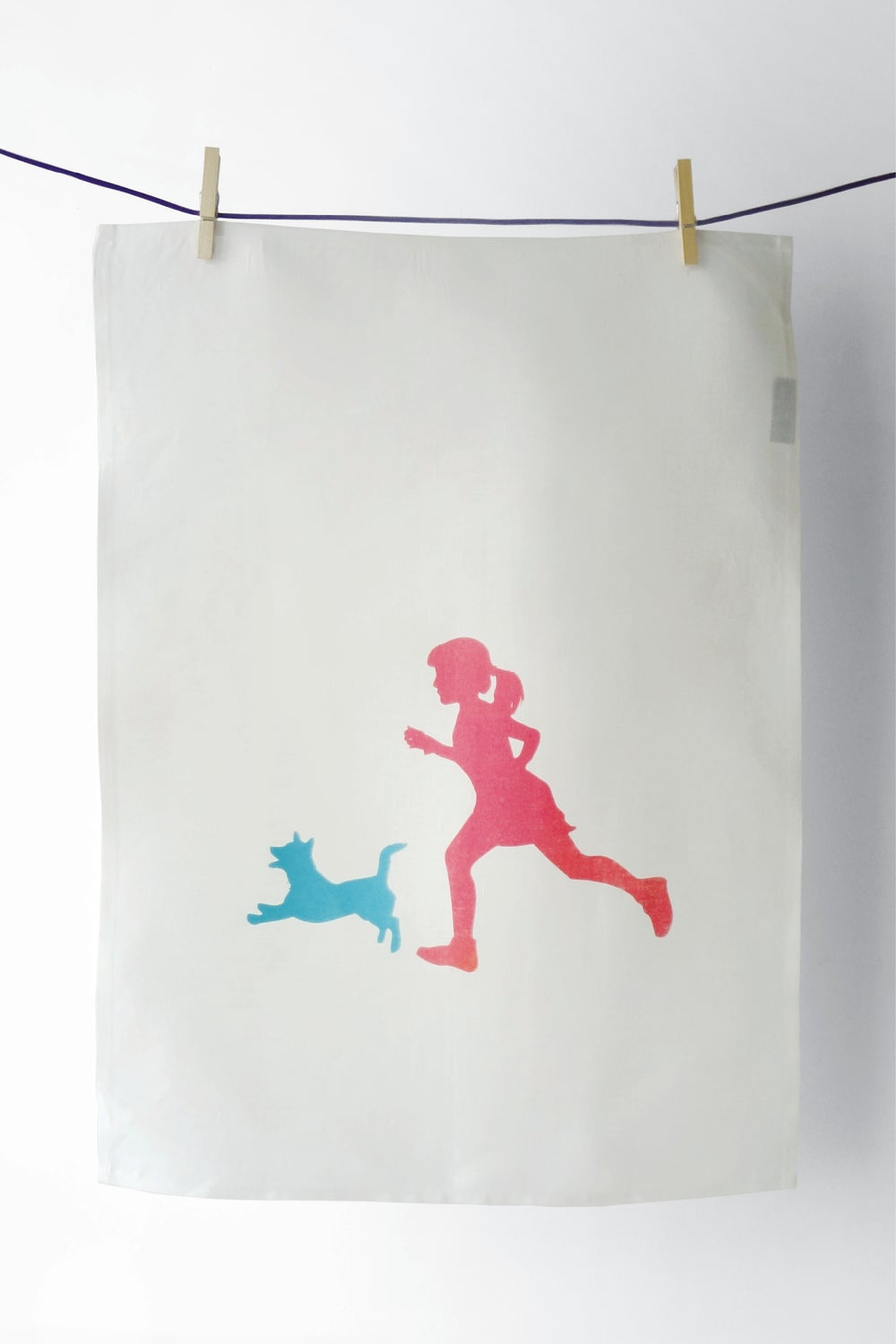 Image of Bella & Ayesha - Tea Towel :: SOLD OUT ::