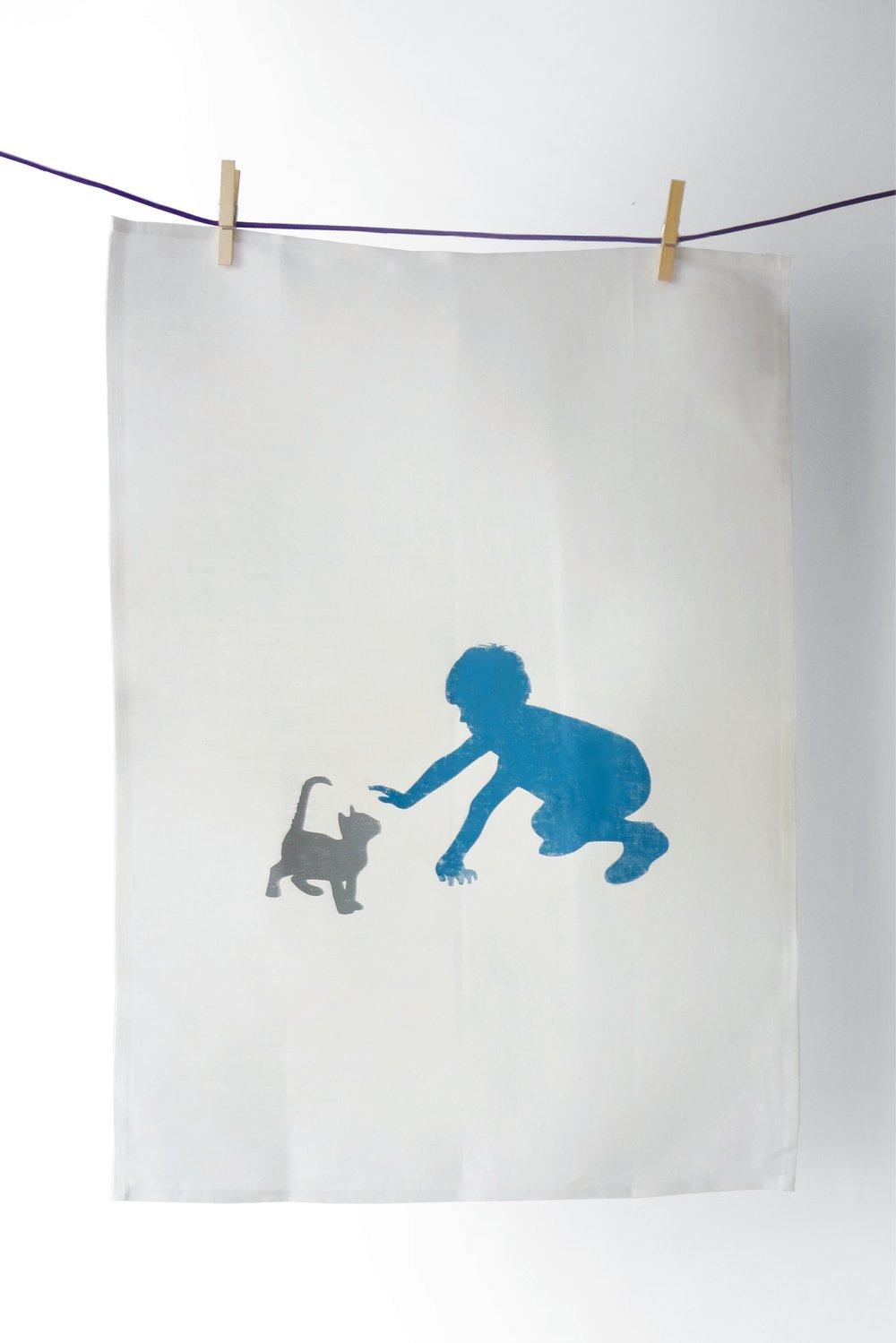Image of Toby & Frankie - Tea Towel