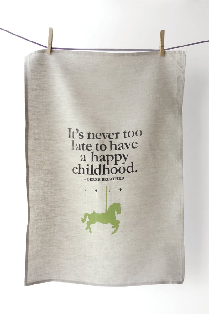 Image of Happy Childhood - Tea Towel