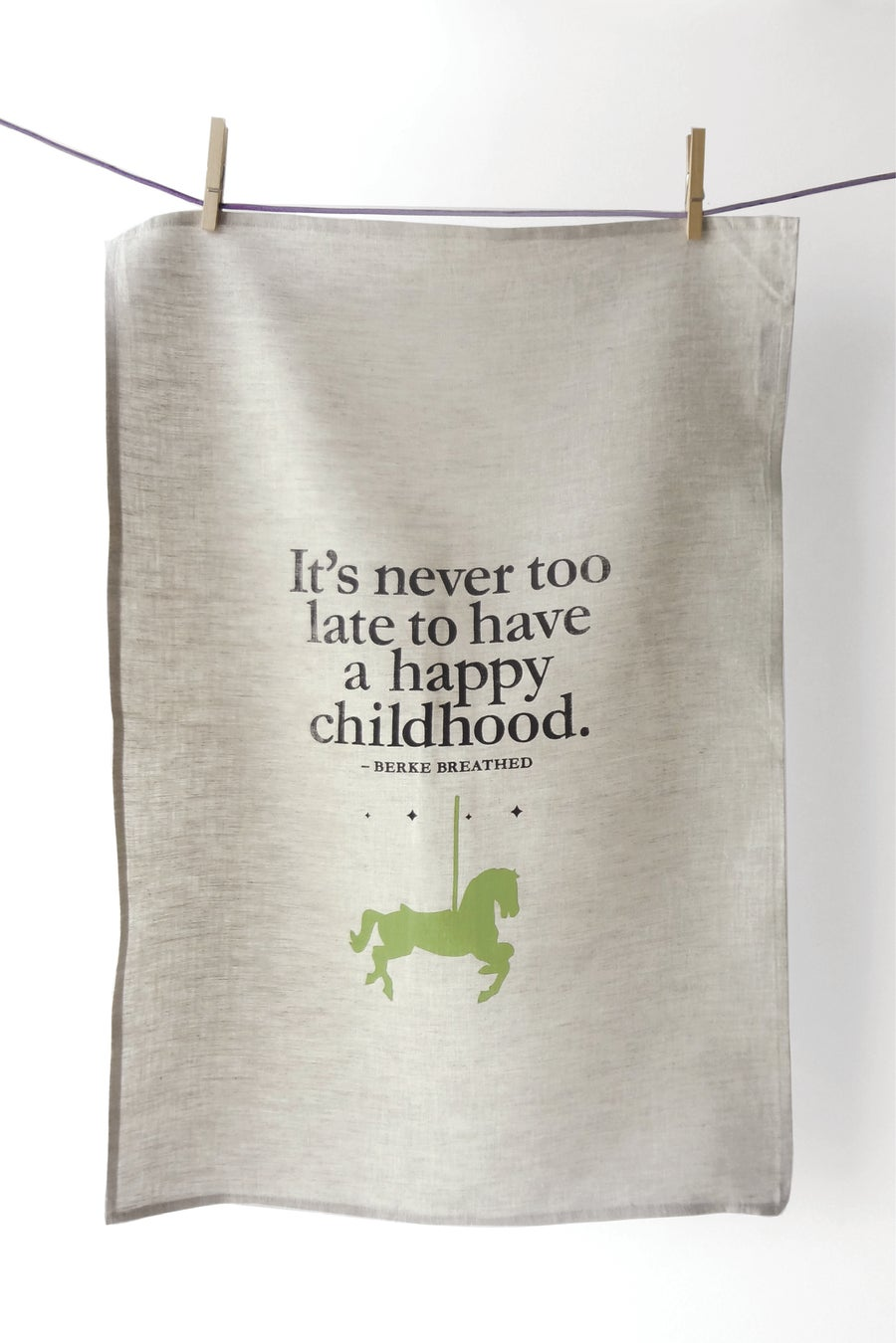 Image of Happy Childhood - Tea Towel
