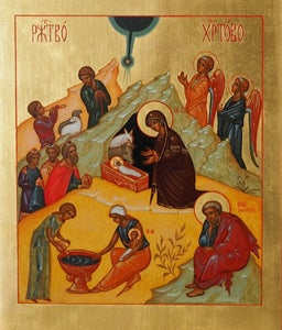 Image of Russian nativity icon