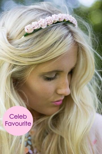 Image of Mini Rose Crown Pastel Pink
