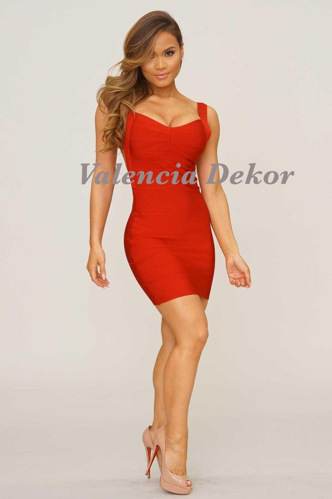 Red Bandage Dresses