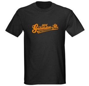 Image of 924 Gilman St. Documentary Orange Logo T-Shirt