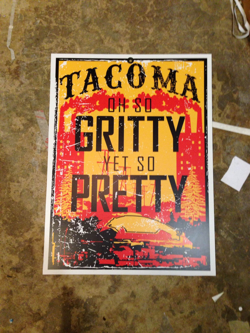Image of Grit City Poster