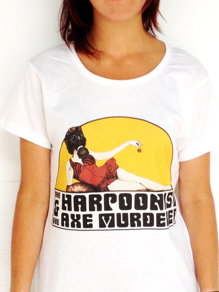 "Image of The Harpoonist & The Axe Murderer ""A Real Fine Mess"" T-shirt"