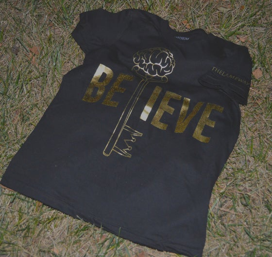Image of Gold Edition BELIEVE Tee