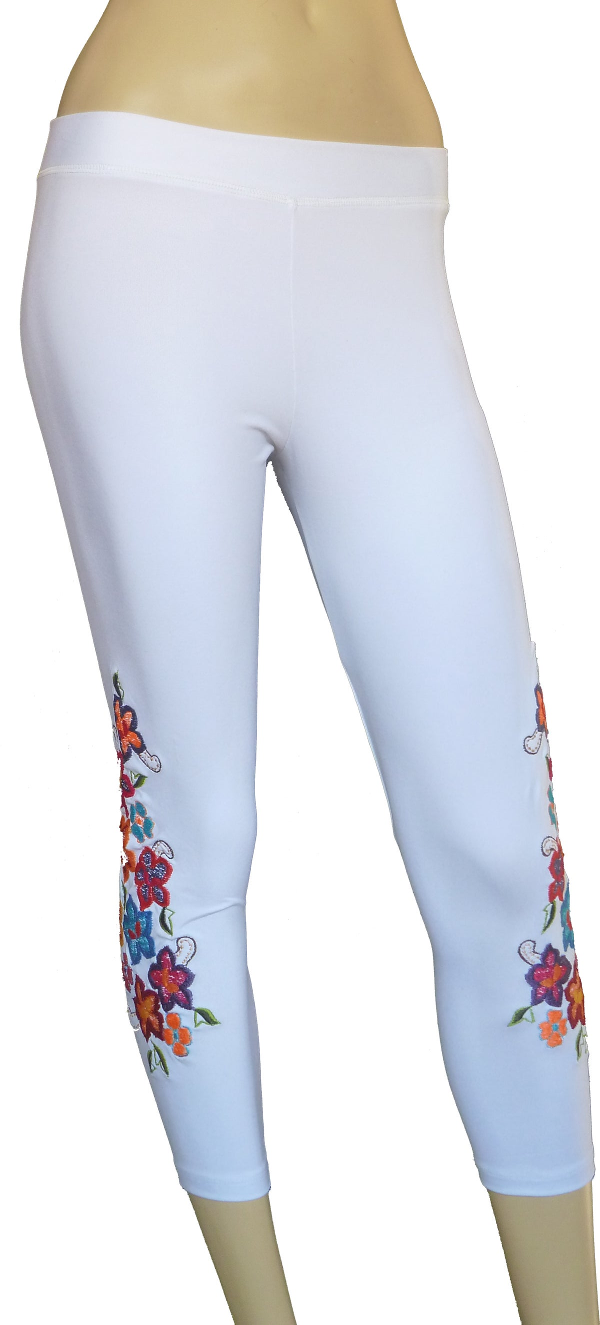 Primavera Capri White leggings FW3285W