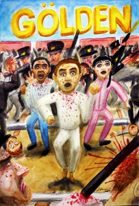 Image of GÖLDEN Graphic Novel - Original Cover Art