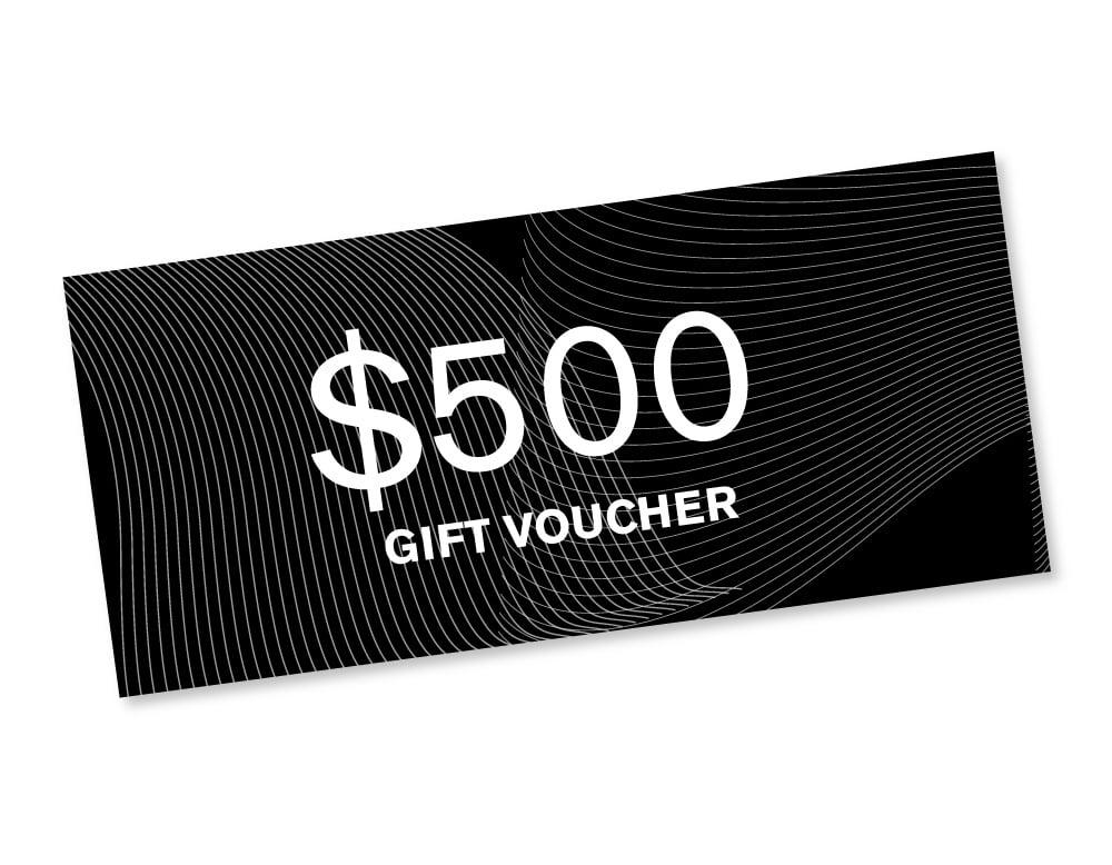 Image of $500 Gift Voucher