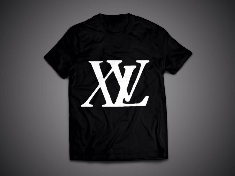 Image of XvL Big Logo Black Tee