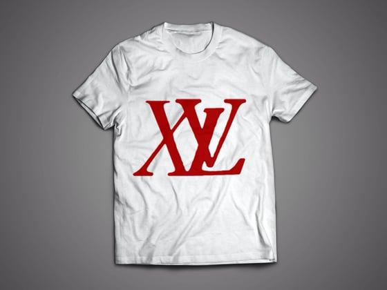 Image of XvL Big Logo White Tee