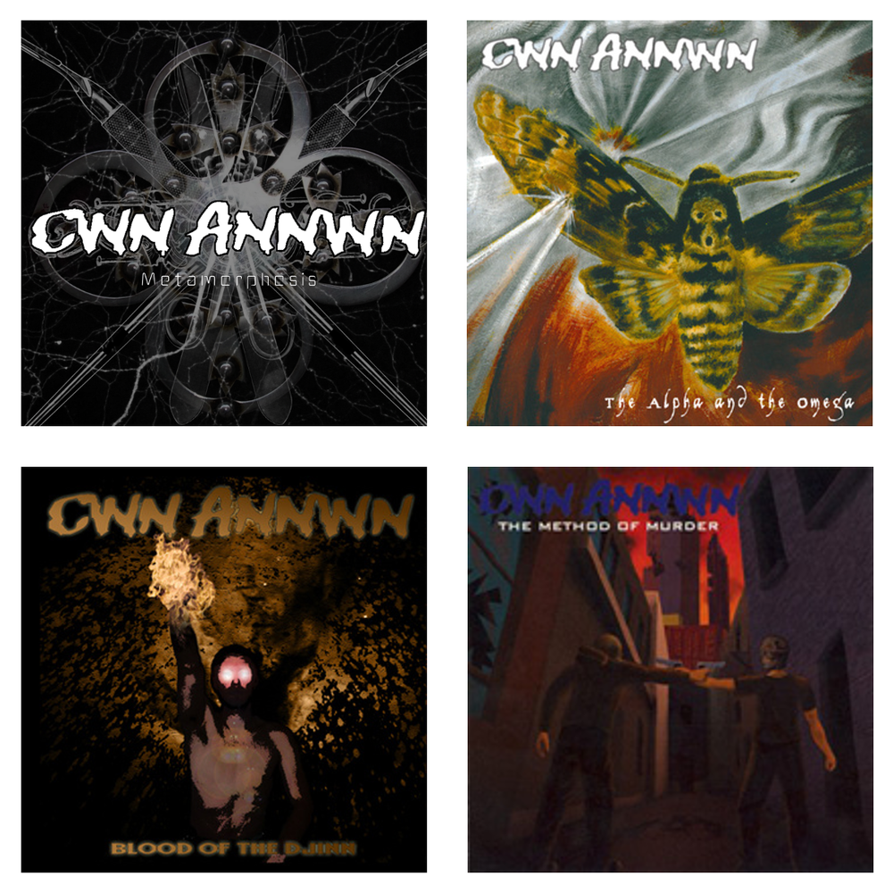 Image of All Four Cwn Annwn CDs