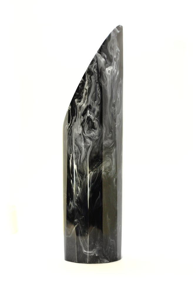 Image of Marbled Black Vase
