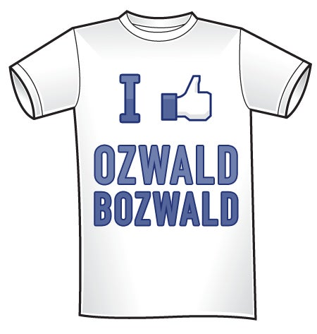 Image of iLike Ozwald Bozwald t-shirt