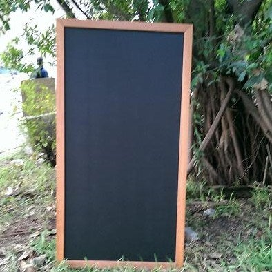 Large Chalkboard with Solid Border