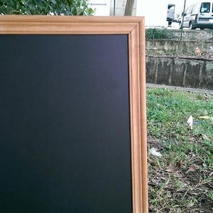 Large Chalkboard with Corrugated Border