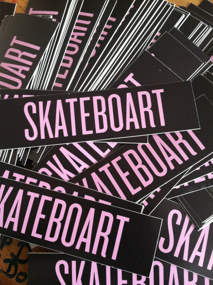 Image of SKATEBOART Sticker