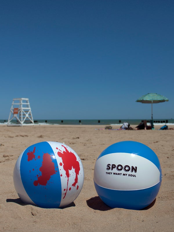 Image of Spoon. Bloody Beach Ball.