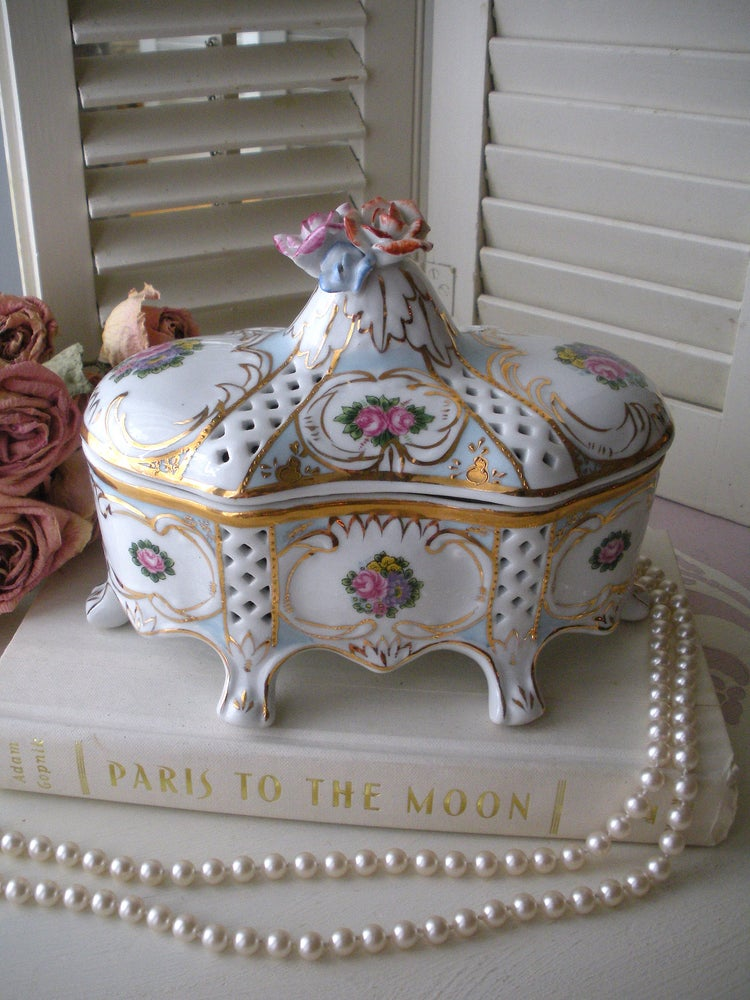 Image of Limoges Porcelain Box