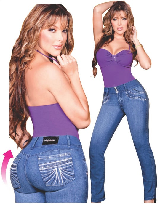 f5f59f2623b Loila Heart s Curves — Colombian Butt Lift Jeans Texas