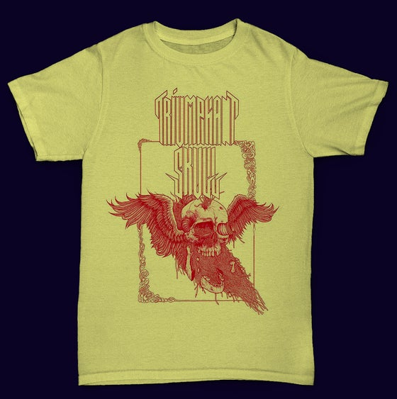 Image of Triumphant Skull T-Shirt