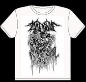 Image of MALIGNUS WHITE SHIRT PRINT