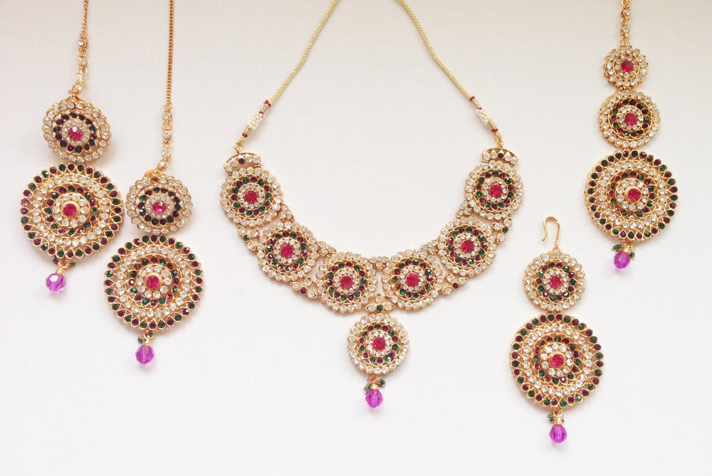Image of Eccentric' Necklace Set
