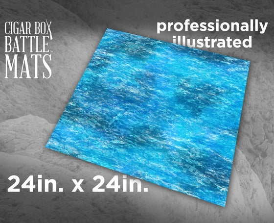 Image of Ocean Gaming Battle Mat - 2x2 - #108