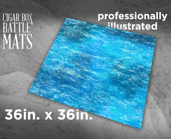 Image of Ocean Gaming Battle Mat - 3x3 - #117