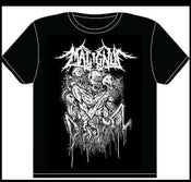 Image of MALIGNUS BLACK SHIRT PRINT