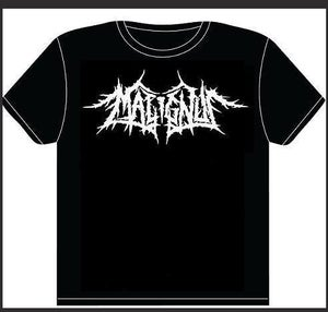 Image of MALIGNUS PLAIN LOGO TEE (BLACK)