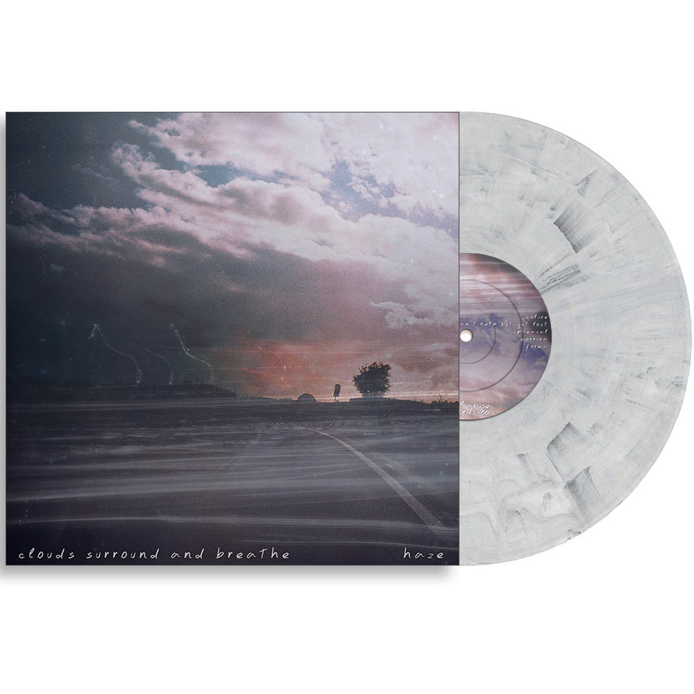 Image of HAZE - CLOUDS SURROUND AND BREATHE LP