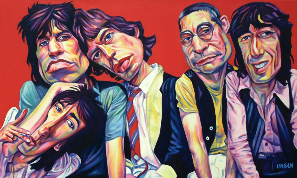 Image of Rolling Stones Print