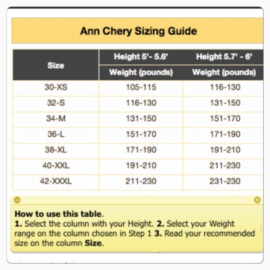 Image of Ann Chery 3 HOOK Latex Trainer (Hour glass)