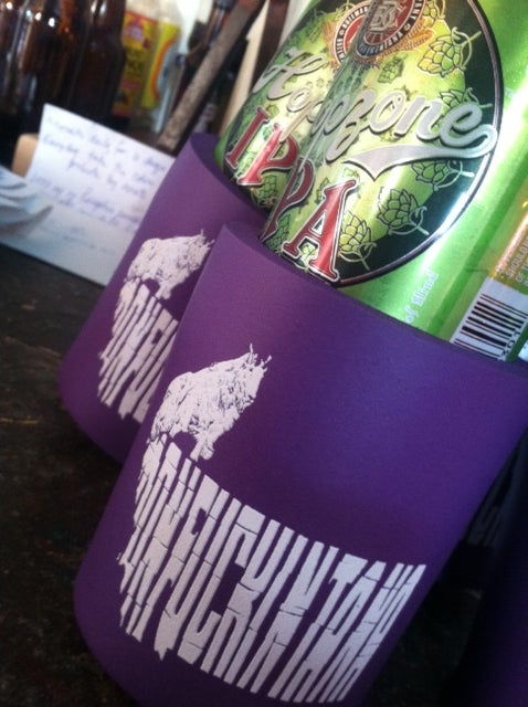 Image of Monfuckintana Goat Koozie.