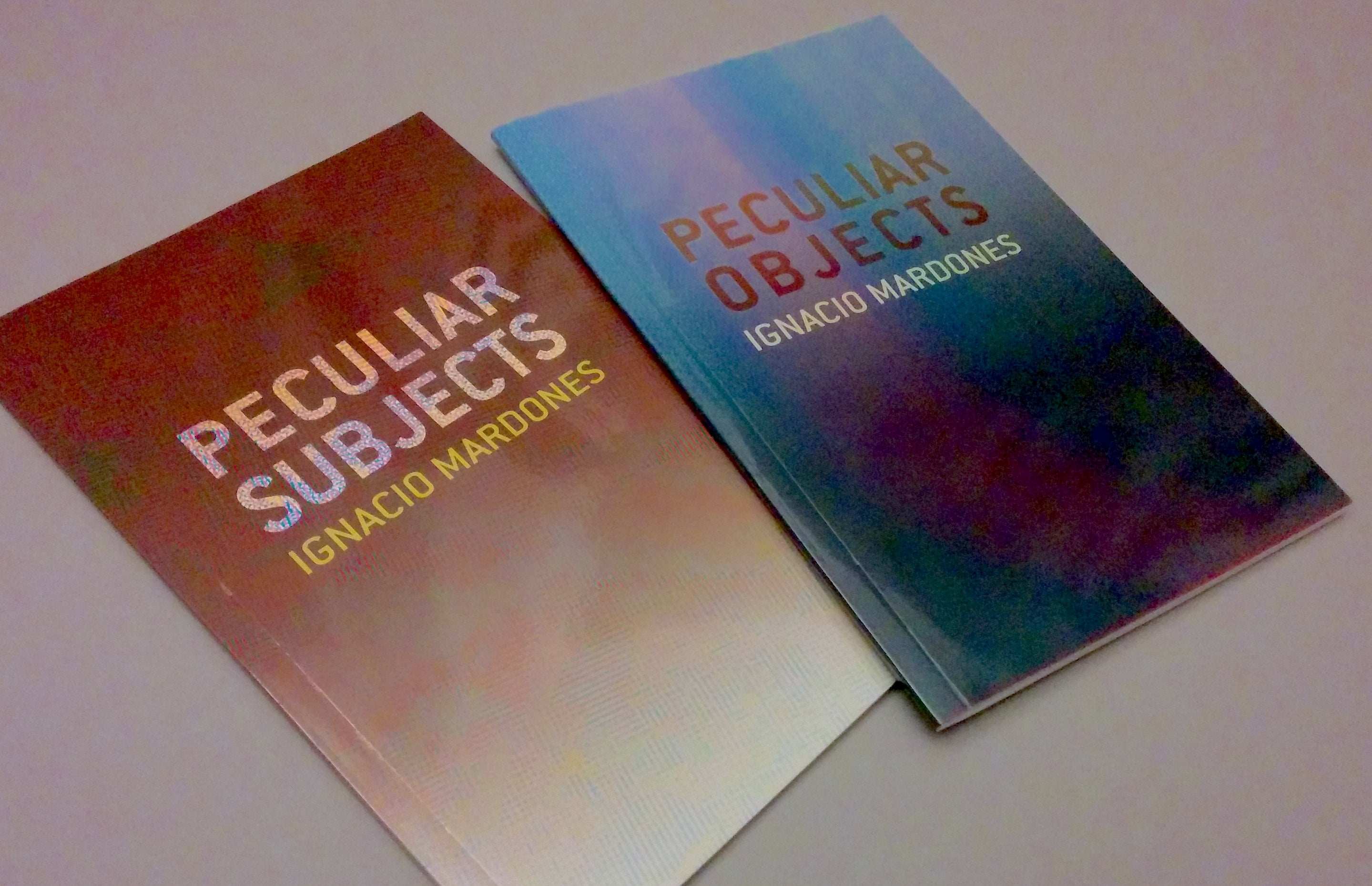 Peculiar Subjects / Peculiar Objects