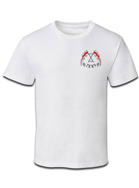 Image of REVOLT TEE / WHITE