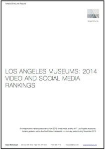 Image of Los Angeles Museums: 2014 Video and Social Media Rankings