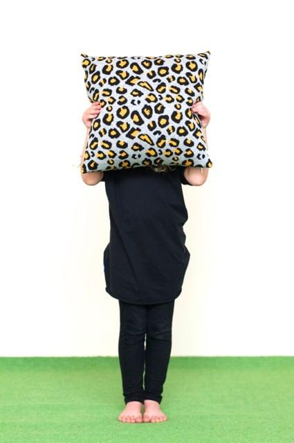 Image of Leopard cushion