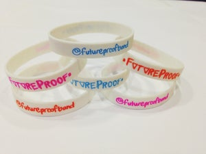 Image of FutureProof Twitter Wristbands - Slim FIRE SALE £1