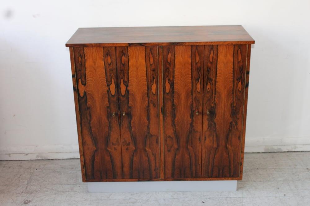 Image of 1960's rosewood cabinet danish