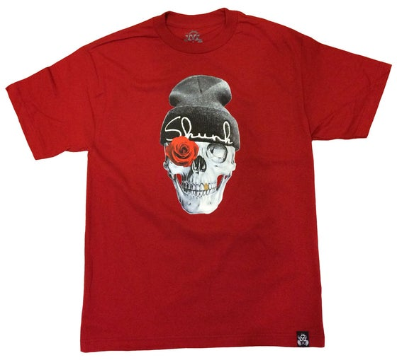 Image of SKULL TEE  | CARDINAL RED