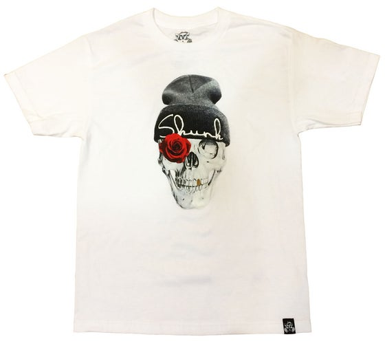 Image of SKULL TEE  | WHITE