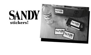 Image of Sandy Zine:  B&W Sticker